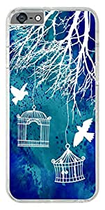 iPhone 6s Cover,Premium Quality Designer Printed 2D Transparent Lightweight Slim Matte Finish Hard Case Back Cover for Apple iPhone 6s by Tamah