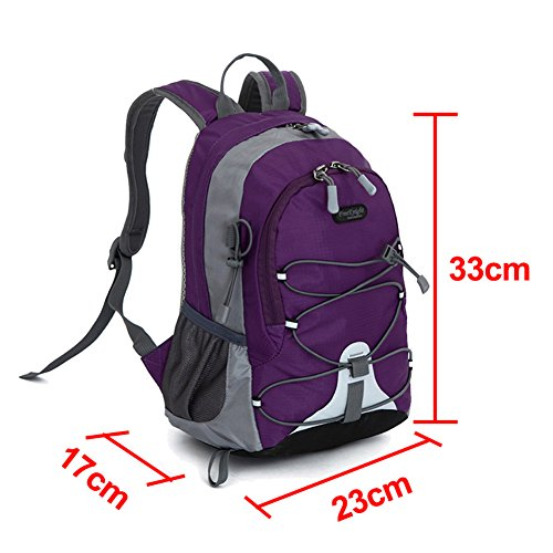 Samber Kids Zaino Scuola Borsa Bambini Bookbag Purple12