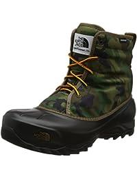 The North Face Tsumuro, Chaussures de Randonnée Hautes Homme, Noir (TNF Black/Dark Shadow Grey), 44.5 EU