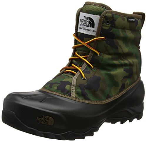 The North Face Herren Tsumuro Trekking-& Wanderstiefel, Schwarz (Black Forest Woodland Camo/TNF Black), 46 EU (Camo Winter Boot)