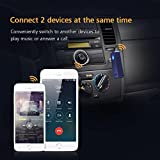 【Neue Version】Mpow Bluetooth 4.1 Empfänger Drahtlos Bluetooth Receiver Tragbare Bluetooth Adapter Audiogeräte für KFZ Auto Lautsprechersystem mit Stereo 3.5 mm Aux Input- Blau - 6