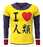CoolChange No Game No Life T-Shirt von Sora mit 2 roten Schweißbändern (L)
