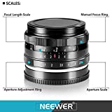 Neewer NW-E-50-2.0 50mm f/2.0 Manueller Fokus Prime - 7
