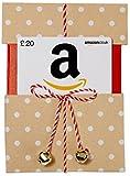 Amazon.co.uk Gift Card - Reveal - £20 (Jingle Bells Kraft)