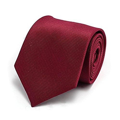 XIANGUO Herren Krawatte Fashion Streifen Muster Krawatte für Casual & Arbeitskleidung (Y30) (Streifen-krawatte Breite)