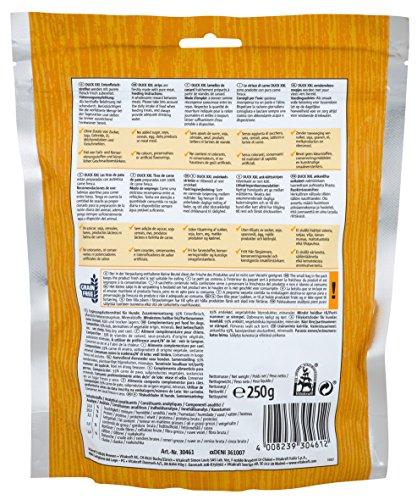Vitakraft Fleischsnack für Hunde, Kausnack Entenfleischstreifen, DUCK XXL, 30461, 250 g - 3