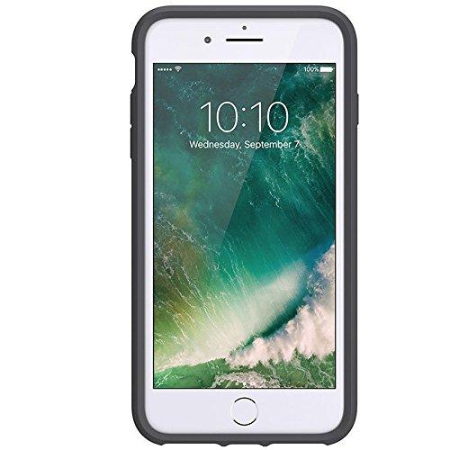 Griffin Survivor Clear Case Schutzhülle für Apple iPhone 7+/7+ Dual/6s+/6+ - Space Grau/Silber Anthrazit/Pink