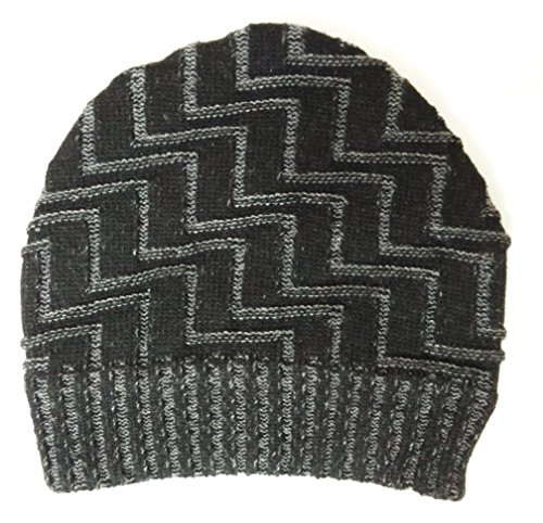 Sylan's Men's Woollen winter Skull Cap Black  available at amazon for Rs.199