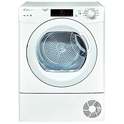 Candy GSVC10TG 10kg Condenser Tumble Dryer -White White / Brand New with 1 Year Labour 10 Year Parts Warranty from Candy