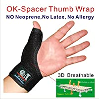 IRUFA,3D Breathable Patented Elastic Knit Spacer Fabric Reversible CMC Joint Thumb Stabilizer, Thumb Spica, Abducted... preisvergleich bei billige-tabletten.eu