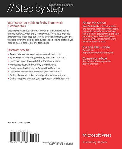 Microsoft ADO.NET Entity Framework Step by Step (Step By Step (Microsoft))