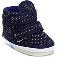CHiU Kids LED Light Shoes with Chu Chu Music Sound for Baby Girl and Baby Boys (Age Group - 9-12 Months, 12-15 Months…