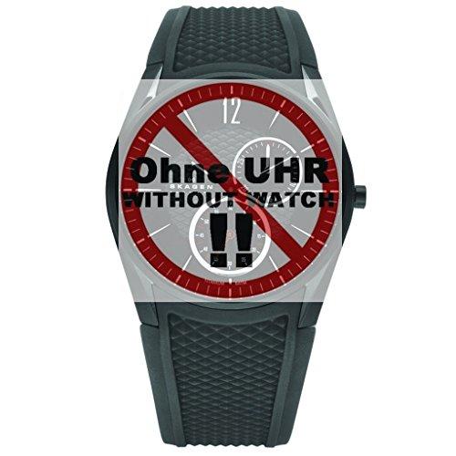 Skagen Uhrband Wechselarmband LB-435XXLTBRB Original Ersatzband 435XXLTBRB Uhrenarmband Kautschuck 2