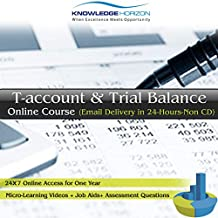 T-account & Trial Balance Online Course (Email Delivery in 24 Hours- No CD)