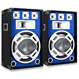 Electronic-60000261Lautsprecher–Lautsprecher (Boden, DJ, extern, 3-voies, 25–20.000Hz, schwarz, blau)