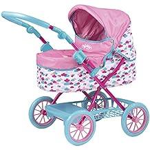 Zapf Creation 824115 - BABY born Roamer Pram, petrol/rosa