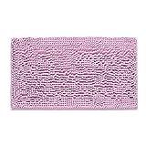 Decdeal Microfiber Bath Rugs Chenille Floor Mat Carpet Soft Indoor Washable Bathroom Floor Mat