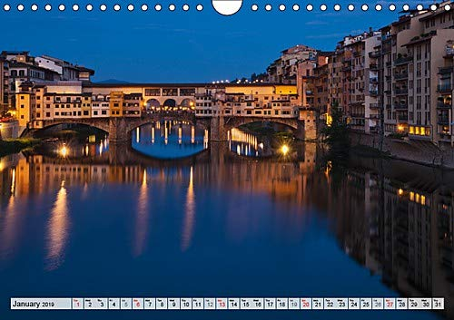Italiy / UK-Version (Wall Calendar 2019 DIN A4 Landscape): The photographer Gunter Kirsch presents some of the best places of Italy. (Monthly calendar, 14 pages ) (Calvendo Places)