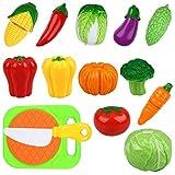 Peradix Vegetal Frutas de Juguete para Cortar 14 piezas