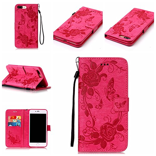 Coque iPhone 7 Plus, Meet de pour Apple iPhone 7 Plus (5,5 Zoll) Folio Case ,Wallet flip étui en cuir / Pouch / Case / Holster / Wallet / Case, Apple iPhone 7 Plus (5,5 Zoll) PU Housse / en cuir Walle A