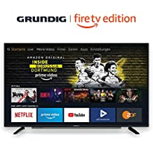 Grundig Vision 6 - Fire TV Edition (40 GFB 6060) 101 cm (40 Zoll) Fernseher (Full HD, Alexa-Sprachsteuerung, Magic Fidelity) schwarz