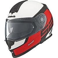 Casque rouge de moto d'élite de sport de Schuberth S2