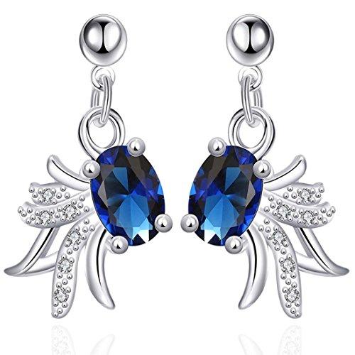 jewelleryclub-plaqu-argent-bleu-marine-cristal-swarovski-elements-goldfish-boucles-doreilles-pour-le