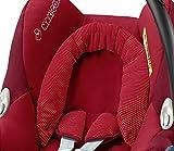 Maxi-Cosi Babyschale Cabriofix, extraleicht, Nutzung im Auto in Kombination mit allen Maxi-Cosi Basisstationen oder mit dem 3-Punkt-Gurt, Seitenaufprallschutz, Gruppe 0+ (0-13 kg), robin red -