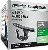 RAMEDER Komplettsatz, Anhängerkupplung starr + 13pol Elektrik für FORD GRAND C-MAX (136185-08996-5)