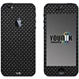 label pepper Designfolie Handy Skin für iPhone 5 (mit Logocut) - Farben Oberflächen Strukturen Holz Metallic