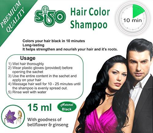 10 minutes hair color root sisopremium10minuteshaircolorshampoo15ml siso premium 10 minutes hair color shampoo 15ml gtroad the new