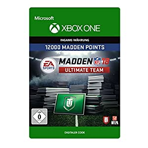 Madden NFL 18: MUT 12000 Madden Points Pack [Xbox One – Download Code]