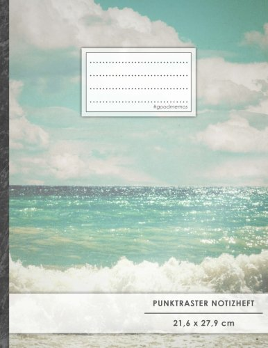 Punktraster Notizbuch • A4-Format, 100+ Seiten, Soft Cover, Register,