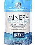 Minera Dead Sea Salt 2lb Bag Fine Grain,...