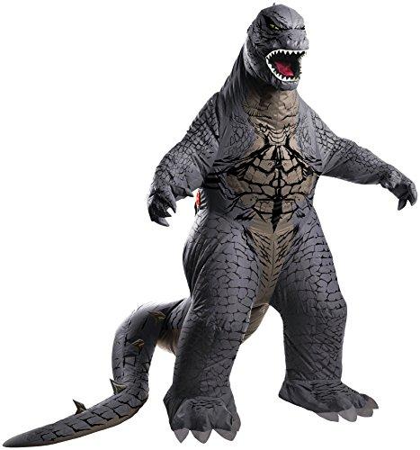 Kostüm Godzilla - Rubie's Deluxe aufblasbare Godzilla-Kostüm für Männer