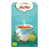Yogi Tea Sollievo e Vigore Della Gola - 17 Bustine Filtro [32,3 gr]