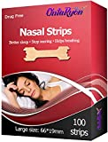 OntaRyon Nasal Strips Right Aid to STOP SNORING x100 LARGE