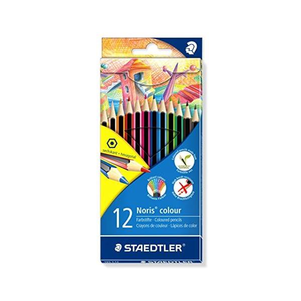 STAEDTLER 185 C12 – Lápices, 12 unidades, Multicolor