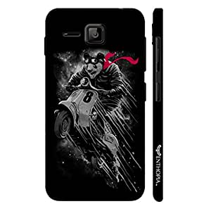 Micromax Bolt S301 Flying Panda designer mobile hard shell case by Enthopia