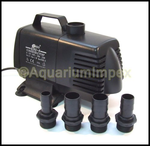RESUN KING-6 Filterpumpe Pumpe 8500 L/H - 2