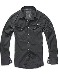BRANDIT Men Slim Shirt Herren Hemd B-4005