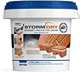 Stormdry Masonry Protection Cream 3L - The Only BBA Certified Brick Waterproofing Product - Proven 25 Year Protection Against Penetrating Damp