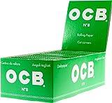 Ocb Cartine Verdi Corte Ecologiche - Scatola Da 50 Libretti