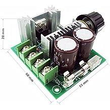 FengYun® Controlador de velocidad PWM Governor de velocidad del motor 12V-40V 10A DC con interruptor de velocidad controlada, alta eficiencia