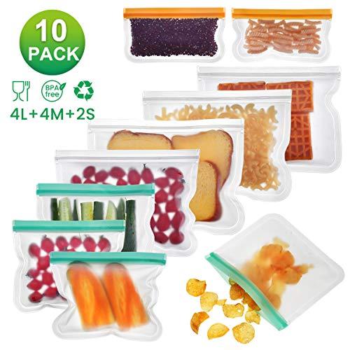 Godmorn Bolsas Almacenamiento Alimentos Reutilizables,Biodegradables,Bolsas