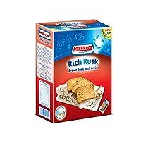 AMERICANA CAKES Rich Brown Rusk W/Grains 385G