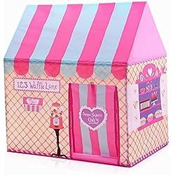 Tente pour Enfants, Maison de Jeux pour bébés Filles et garçons, tentes pour Jardin intérieur ou extérieur pour Cadeau de bébé