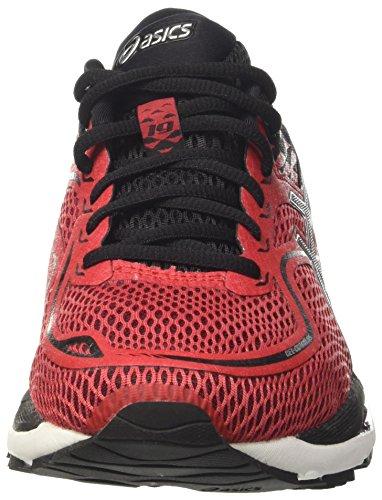 Asics Gel-Cumulus 19, Chaussures de Running Compétition Homme Rouge (Prime Red / Black / Silver)