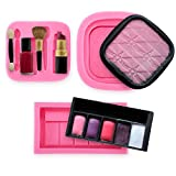 3er Kosmetik Make up Motive Set Silikon Ausstechform Ausstecher Fondant Lippenstift Lidschatten Rouge