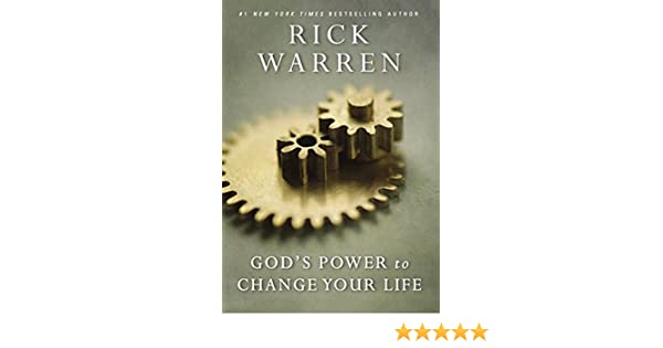 ce6e05052d7 God s Power to Change Your Life (Living with Purpose) eBook  Rick Warren   Amazon.in  Kindle Store